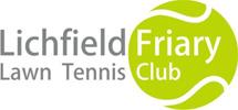 Lichfield Friary Tennis Club logo